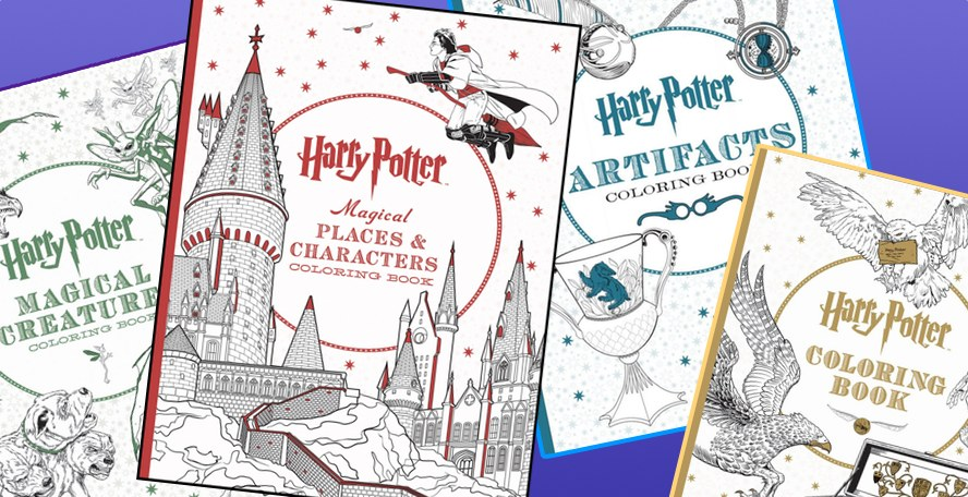 Harry Potter Book Set Big W : More 'harry potter adult coloring books set to debut