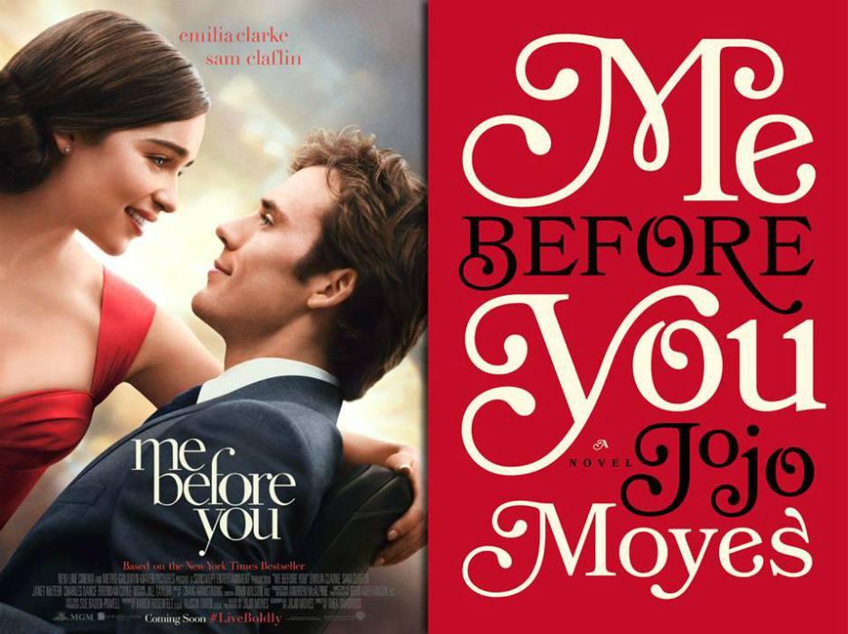 Movie Vs Book Me Before You Laras Book Club
